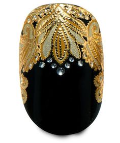 Marchesa for your nails? YES, please