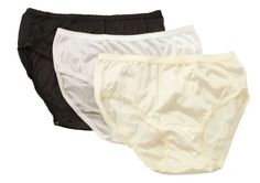 CLICK IMAGE TWICE FOR PRICING AND INFO :) #women #panties #lingerie #briefpanties #intimates #undergarment see more granny panties at http://zpanties.com/category/panties-categories/granny-panties/ - Shadowline Nylon Hipster Panties, 11042 (Pkg of 3–White,Black,Ivory) 6 « Z Panties