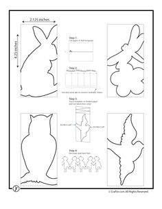 Paper Chain People Templates Paper Chain Animals – Craft Jr.