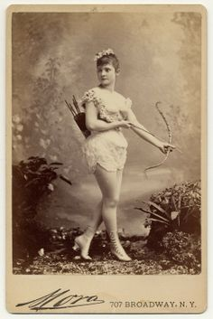 exotic dancer 1890s