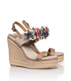 Mallory Wedge Espadrille | Womens Wedges | ToryBurch.com