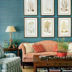 Mix Motifs - Lake House Decorating Ideas - Southern Living