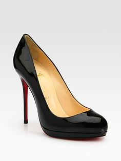 """Christian Louboutin """"Filo"""" Patent Leather Platform Pumps worn by Olivia Pope in Scandal Episode 312 """"We Do Not Touch the First Ladies"""""""