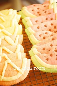 Orange party : orange cookies