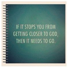 love this. Get closer to God!
