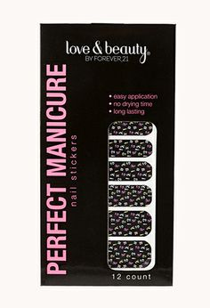 Mixed Media Nail Stickers | FOREVER21 - 1000089702