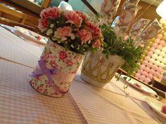 #festa #party #centro de mesa #flowers #flores #rapunzel #lollipop #pirulito #marshmallow