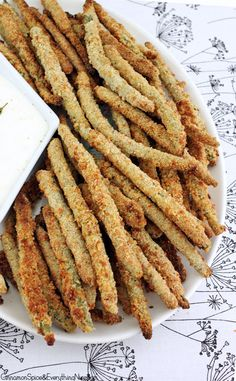 Crispy Baked String Bean Fries