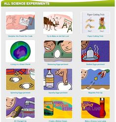 Free Educational Resource: Huge List of Fun Science Experiments from National Geographic