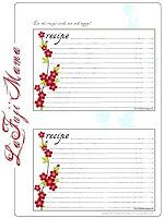 Recipe cards with a little Fuji Flair! — La Fuji Mama