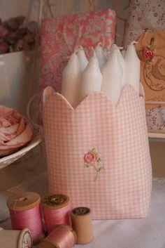 TILDA candle bag