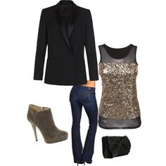 """""""Christmas party outfit"""" by yjmauney on Polyvore"""