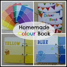 Homemade Colour Book - love this idea!