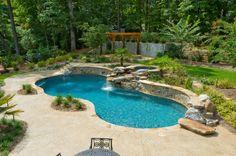 Another award winning residential pool form Artistic Pools, Atlanta, GA