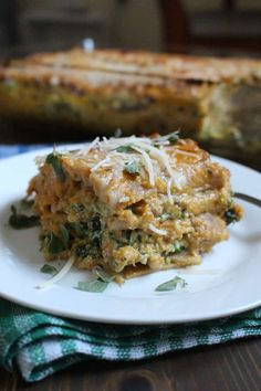 Pumpkin Sauce Lasagna | Frugal Nutrition