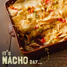 Your team didn't make it to the big game? It's ok. This Pepper Jack Nacho Bake is so good you will be able to enjoy the game no matter who is playing. #recipe #basketball #cheese #snack #entertaining #mexican #game #madness #tournament