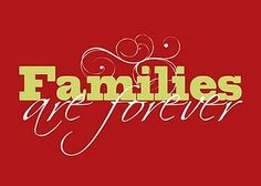 Families are Forever Red