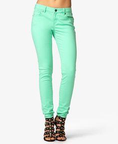 Soft Skinny Jeans   FOREVER 21 - 2027682079