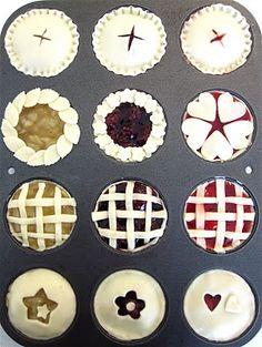 cutest mini pies!