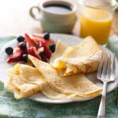 Gluten-Free Dessert Crepes: step-by-step photos and tips.