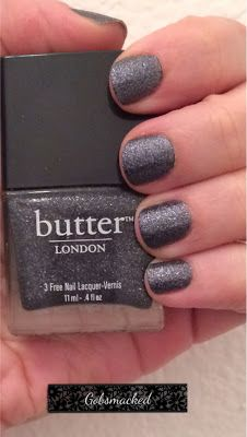 Butter London nail polish in Gobsmacked #nails @Laura Davis LONDON