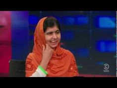 16-Year-Old Malala Yousafzai will be the youngest recipient of the Nobel Peace Prize. A short interview from the Jon Stewart show. #Nobel_Peace_Prize #Malala_Yousafzai