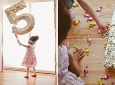 DIY Faceted Birthday Piñata by Shauna Younge | Sweet Tooth (pic: Angela Rose Photography)