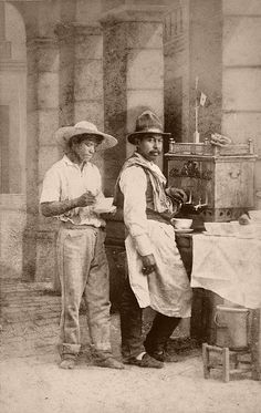 Mexican coffee merchants visit us on line at www.mainlymexican... and on eBay #Mexican #Mexico #antique #vintage #photography