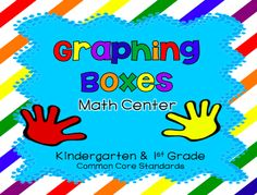 Teach123 - tips for teaching elementary school: Math Center: Graphing Boxes paid