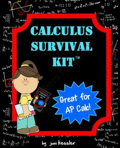 AP Calculus Survival Kit from CoolMath - FunMath on TeachersNotebook.com -  (72 pages)  - Must have for AP Calculus teachers or any Calculus teacher, high school, dual enrollment, or college. First of its kind! In this unique bundle you will find every resource handout you could ever want.