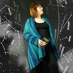 Neptune by Joanne Scrace - lovely #crochet cardigan
