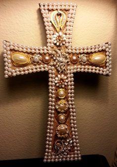 Ornate Wooden Cross