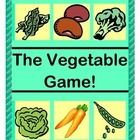 "Add this ACTIVE GROUP GAME to teach about Vegetables as healthy food choices!  Learn how different Vegetables grow!  Identify Vegetables as plant parts!  Find tasty ways for kids to actually EAT Vegetables!  Use the 12 VEGETABLE TEMPLATES as a CRAFT and for game pieces.  Learn a funny RHYME for game play.  Use the ""TALKING POINTS"" for age-appropriate veggie info.  Try my ideas for a ""VEGGIE TASTING PARTY"" to make the learning truly MULTI-SENSORY!  (10 pages)  From Joyful Noises Express TpT!  $"