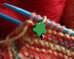 How to make stitch markers for crochet and knitting