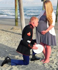 Our Prairie Home: I'm Not A Professional, But...  Marine Corps, Pregnancy Pictures, Baby Bump Pictures, Military Pregnancy Pictures