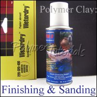 Sanding and buffing polymer clay - if you want a smooth, glassy surface.  This will ALWAYS look nicer than any surface protection you apply.  But it is time consuming and requires persistence.  #Polymer #Clay #Tutorials