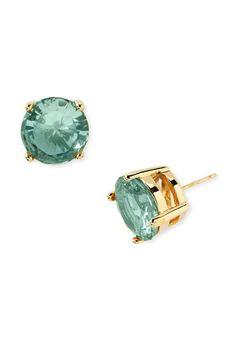 Love this sea blue/green studs