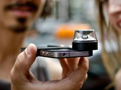 Kogeto Dot 360-Degree Panoramic Video - Take panoramic shots to the next level. The Kogeto Dot shoots fully-interactive 360 degree video with your iPhone which you can then share instantly online. GetdatGadget.com