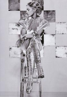 Madonna  Vanity Fair, October 2002  Photographer: Craig McDean