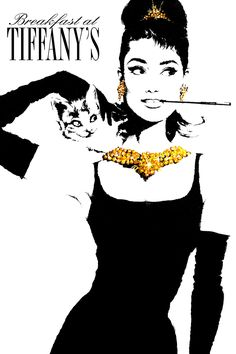 Audrey Hepburn in Breakfast at Tiffany's Poster 5 | Celebrity and