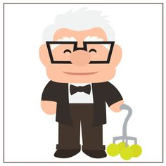 Old Man Carl SVG file