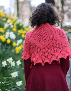 beautiful lacy shawl