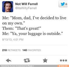 Will ferrell twitter posts