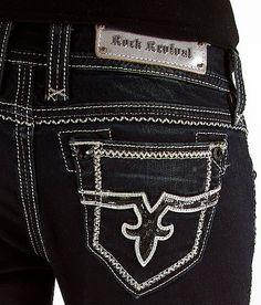 Rock Revival Jacklyn Easy Boot Stretch Jean #buckle #fashion www.buckle.com
