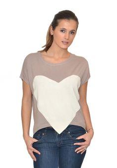 DIY-able heart-shirt