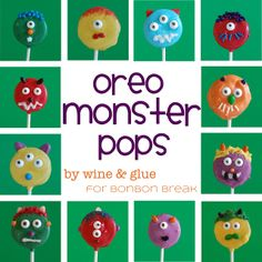 Oreo Monster Pops