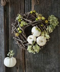 Nature / Pumpkin Wreath