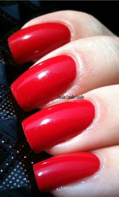 China Glaze Italian Red
