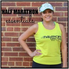 half marathon race day necessities: gear and items you need for your next half-marathon