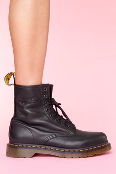 Docs in nappa leather